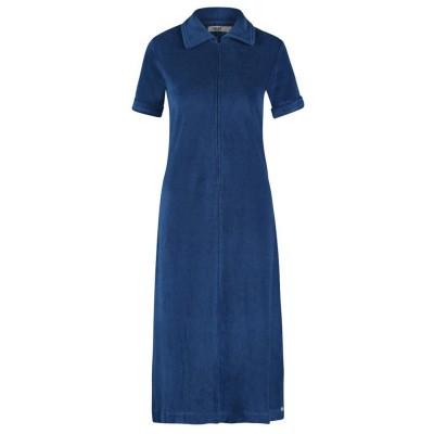 IEZ! Dress Polo Short Sleeves Terry Dark Blue