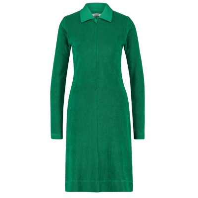 IEZ! Dress Terry Zipper Green