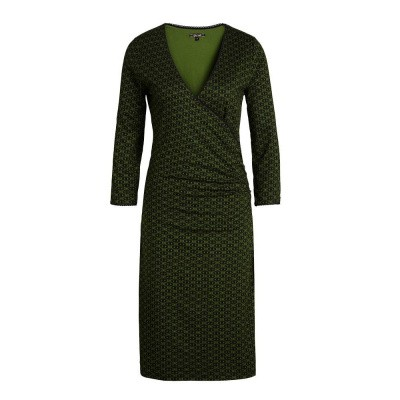 King Louie Cross Dress Loopy Grass Green