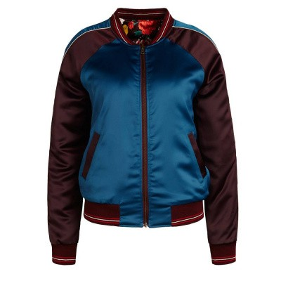 Foto van King Louie Reversible Baseball Jacket Bombastic Grape Wine