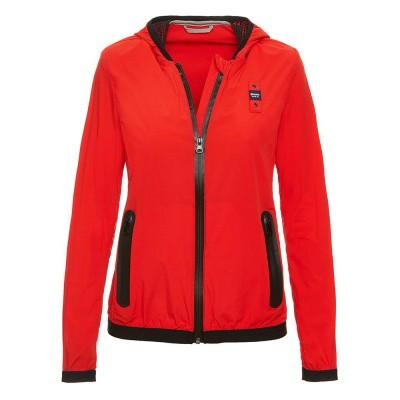 Foto van Blauer Eva Matte Jacket With Hood Bright Red