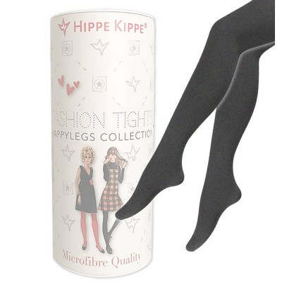 Foto van Hippe Kippe Fashion Tights 100 Denier Antracites Melange
