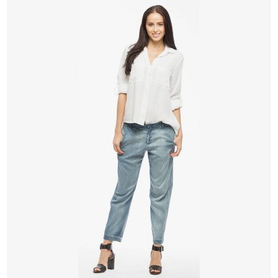 Foto van Bella Dahl Blouse Split Back Button Down White