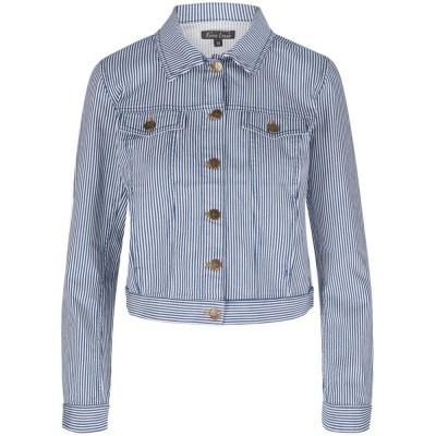 King Louie Janey Jacket Americana Stripe Palace Blue