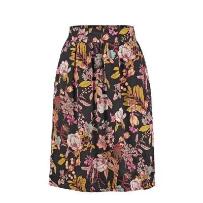 Le Pep Skirt Emily Black Multi Color