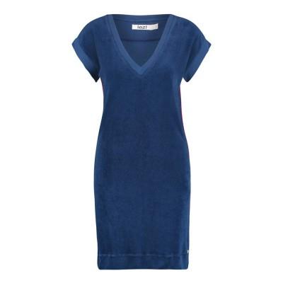 IEZ! Dress Terry Dark Blue