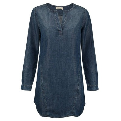 Foto van Bella Dahl Longsleeve Seams Dress Classic Vintage Wash