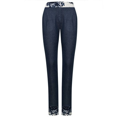 Vive Maria Faded Pants Dark Blue
