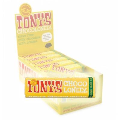 Foto van Tony's Chocolonely Melk Noga 47 gram