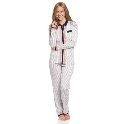 Vive Maria Strawberry Kiss Long Pyjama Creme
