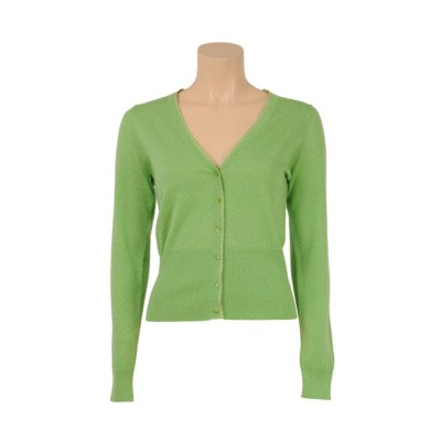 King Louie Cardi V Cocoon Parrot Green