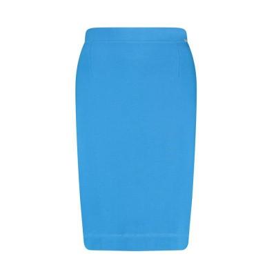 IEZ! Skirt French Knit Cobalt