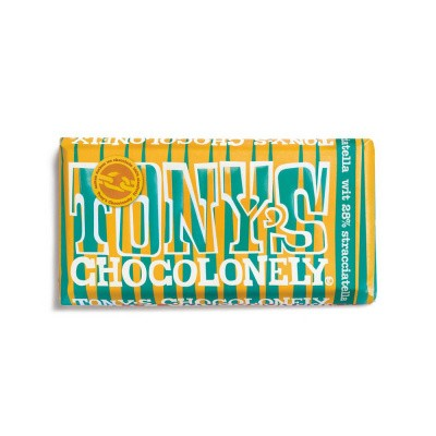 Foto van Tony's Chocolonely Limited Edition: Wit Stracciatella