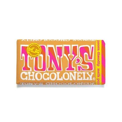 Foto van Tony's Chocolonely Melk Popcorn Discodip 175 gram