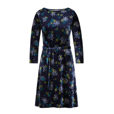King Louie Zoe Dress Stardust Blue