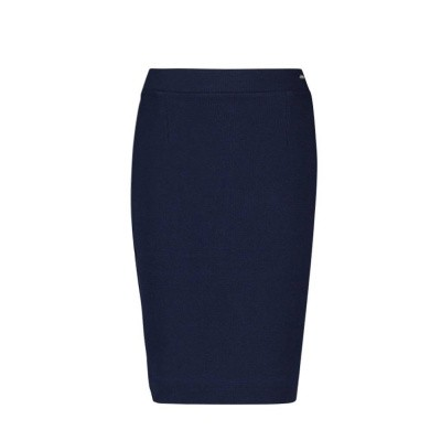 IEZ! Skirt Interlock Jacquard Dark Blue