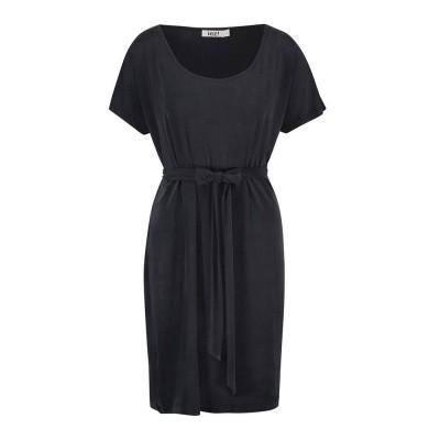 IEZ! Dress Tunic Cupro Satin Black