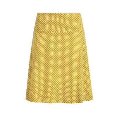 King Louie Border Skirt Venus Curry Yellow