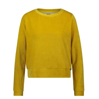 Foto van IEZ! Sweater Velvet Yellow