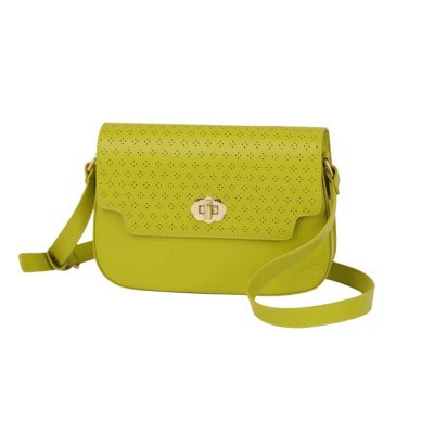King Louie Perforated Midi Bag Citronelle Yell