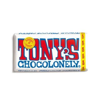 Foto van Tony's Chocolonely Witte Chocolade 180 gram