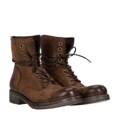 Foto van Goosecraft Johnny Lace Up Brown