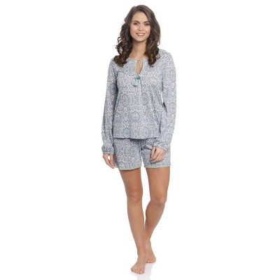 Foto van Vive Maria My Boho Short Pyjama Gray Mint