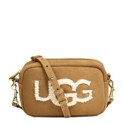 Foto van UGG Janey Crosbdy Sheepskin Chestnut