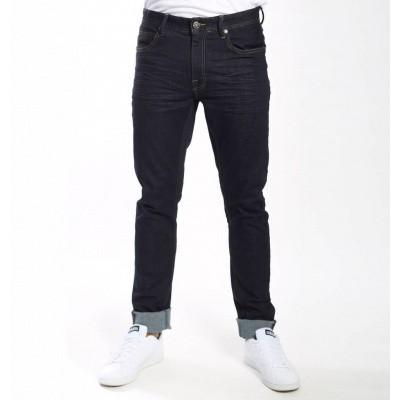 Foto van Amsterdenim Jan Slim Fit Jeans Dark Rinse Wash