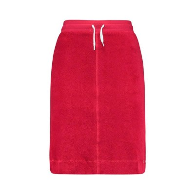 IEZ! Skirt Piping Terry Red