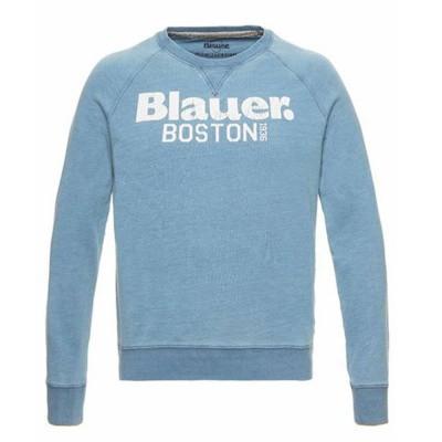 Foto van Blauer Boston 1936 Crew Neck Sweatshirt Sky Blue