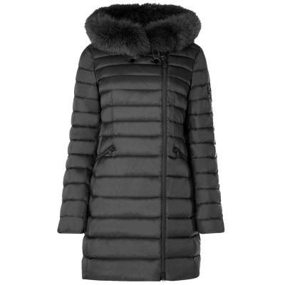 Foto van Peuterey Seriola SL Slim Fit Down Jacket With Fur