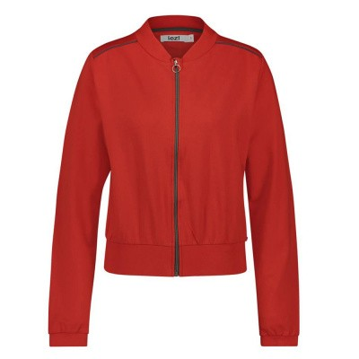 Foto van IEZ! Jacket Bomber French Knit Red