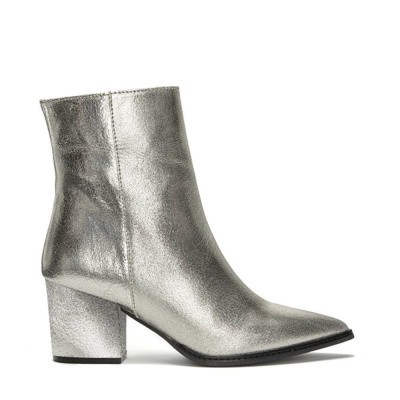 Fabienne Chapot Robin Boot Metallic Silver