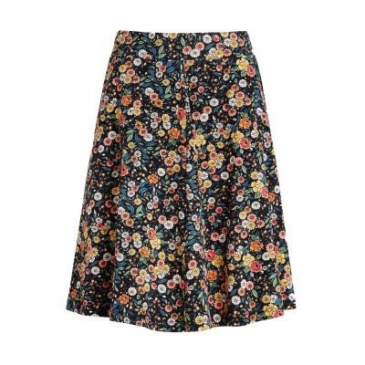 King Louie Sofia Skirt Flowerbed Black