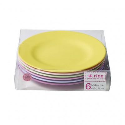 Foto van Rice Borden Set Melamine Verschillende Kleuren