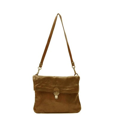 Foto van Campomaggi cross-body bag in leather 'Geranio'