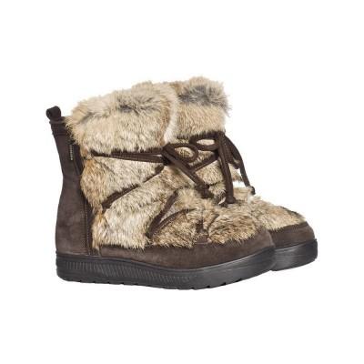 Foto van Goldbergh Butsu Boot Fake Fur Dark Brown