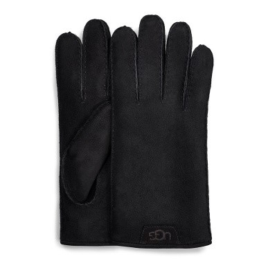 Foto van UGG Shearling Glove Leather Trim Black
