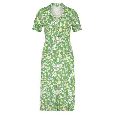 IEZ! Dress Polo Jersey Prints Green