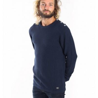 Foto van Amsterdenim Dree Pullover Navy Blue