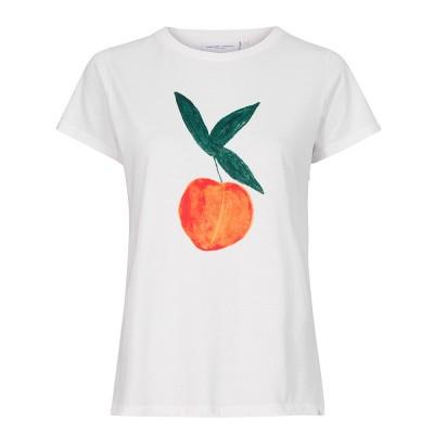 Foto van Fabienne Chapot Joanne T-Shirt Off White Feeling Peachy