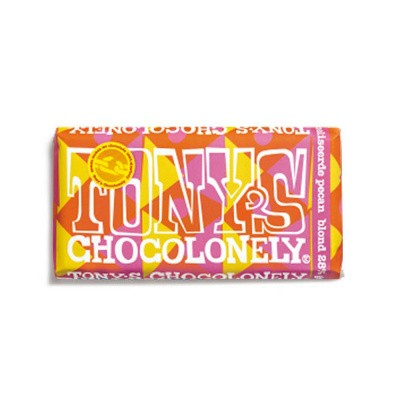 Foto van Tony's Chocolonely Limited Edition: Blond Gekarameliseerde Pecan