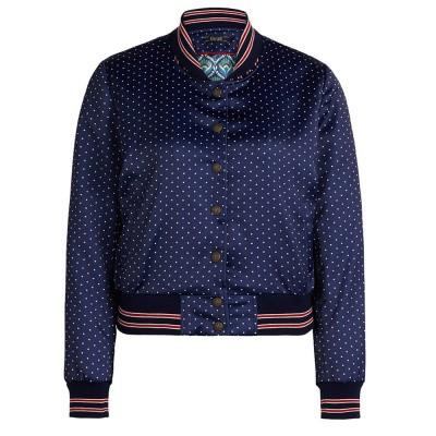 King Louie Cleo Jacket Punti Peacoat Blue