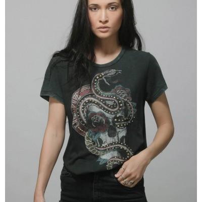 Foto van Rude Riders Skull & Snake T-Shirt 64617