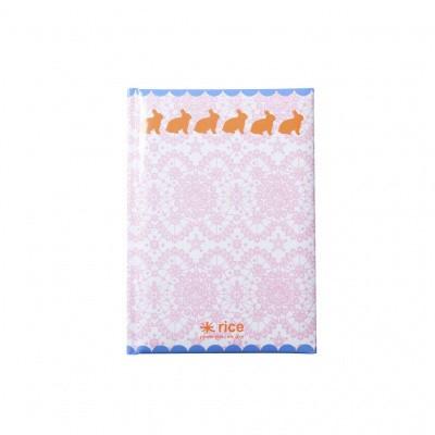 Foto van Rice Notitieboek A5 Roze