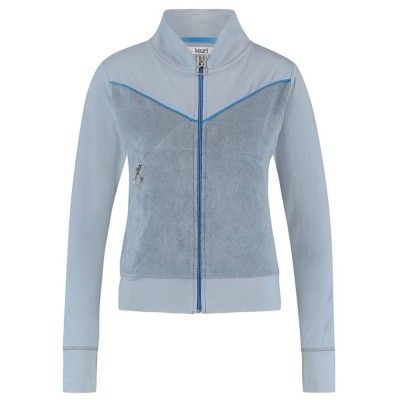IEZ! Jacket Terry Grey Blue