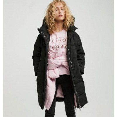 Zoe Karssen ZK Oversized Hooded Puffer Moonless Night