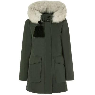 Foto van Peuterey Regina GB Slim Fit Parka With Fur