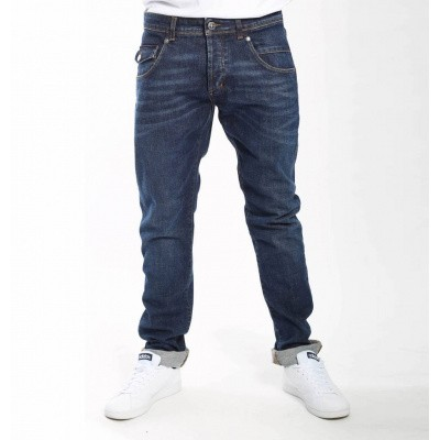 Foto van Amsterdenim Johan Tapered Fit Jeans True Blue